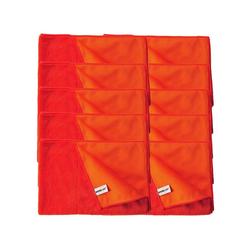Kochblume Geschirrtuch Geschirrtuch 60 x 40 cm, (Spar-Set, 10-tlg), 800g/m² Qualtität rot