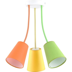 Licht-Erlebnisse Deckenleuchte BANTA Deckenleuchte Bunt flexibel Kinderleuchte Kinderzimmer Lampe