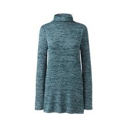 Pullover mit Stehkragen - 48-50 - Blau