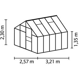 Vitavia Merkur 8300 Alu blank HKP 4 mm 8,3 m²