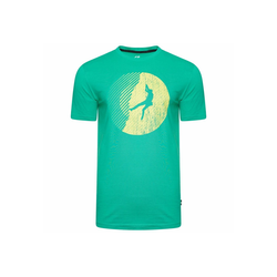 Dare2b T-Shirt Determine Tee mit Grafikdruck grün L