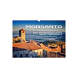 Monsanto in Portugal (Wandkalender 2021 DIN A3 quer)