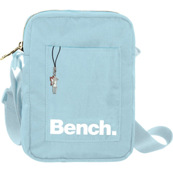 Bench. Umhängetasche OTI304H Bench stylische Mini Bag Twill Nylon (Umhängetasche), Damen, Jugend Umhängetasche Nylon, blau ca. 14cm breit
