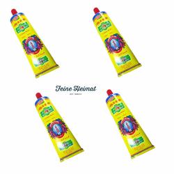 Harissa  La Flamme CAP BON  SEHR SCHARF CHILLI Paste Sauce 4 x 70 Gramm Tube