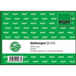 Sigel Quittung QU615 DIN A6