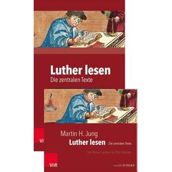 Luther lesen: Buch und Hörbuch