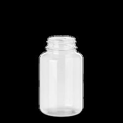 250 ml PET-Dose - rund - klarsichtig