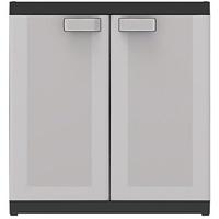 KIS Logico XL Nieder 0,89 x 0,54 x 0,93 m schwarz/hellgrau