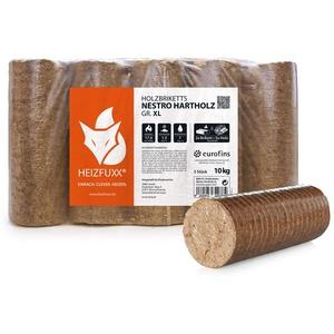 PALIGO Holzbriketts Hartholz Nestro XL Kamin Ofen Brenn Holz Heiz Brikett 10kg x 3 Gebinde 30kg / 1 Karton Heizfuxx