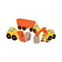 Ecoiffier Spielzeug-Auto Abrick-Set Baustellen-Fahrzeuge