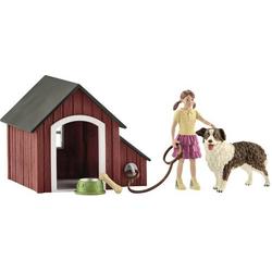 Schleich Farm World Hundehütte 42376