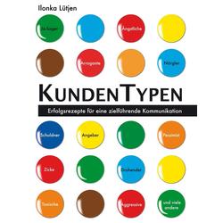 KundenTypen als Buch von Ilonka Lütjen