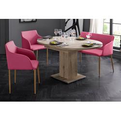 Sitzbank, Breite 106 cm rosa