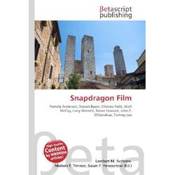 Snapdragon Film als Buch von