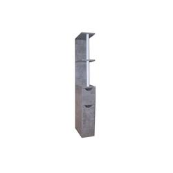 HTI-Line Raumteiler Nischenregal Thekla M, 1-tlg., Nischenregal grau