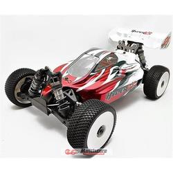 HoBao Hyper VSE Brushless Buggy 1/8 150A 6s RTR Rot / HB-VSE-C150RE