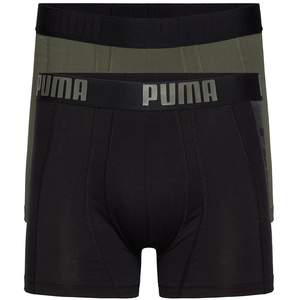 2er Pack PUMA Statement Boxershorts army green L