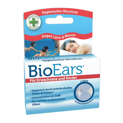 BIOEARS Silikon Ohrstöpsel antimikrobielle 6 St