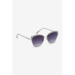 Next Sonnenbrille Cateye-Sonnenbrille mit Metallgestell grau