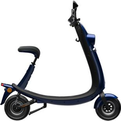Ford OjO Commuter Scooter blau/silber