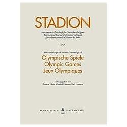 Olympische Spiele - Buch