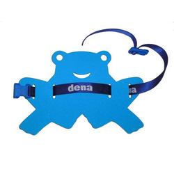 Schwimmgürtel Frosch Kleinkind mit Sicherheitsverschluß 85cm 0-3 Jahre verstellbares Gurtband Blau