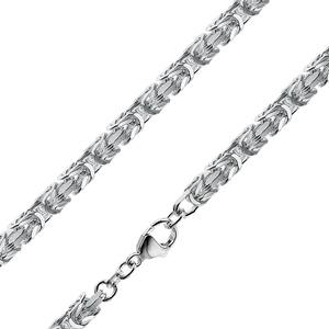 trendor 86113 Halskette für Männer 925 Sterlingsilber Königskette 4,7 mm, 60 cm