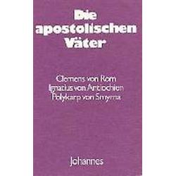 Die apostolischen Väter als Buch von