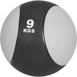 Medizinball aus Gummi Grau 9 kg