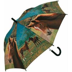 doppler® Stockregenschirm Jugend AC Pferde