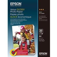 Epson Value Glossy Photo Paper - A4 hochglänzend C13S400035