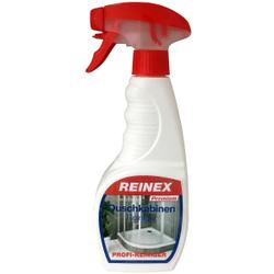 Reinex Premium Duschkabinen Reiniger, Reinigt schnell und wirkungsvoll Kalk- und Seifenreste, 500 ml - Sprühflasche