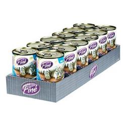 Fine Katzenfutter Feines Menü MSC Seelachs 400 g, 12er Pack