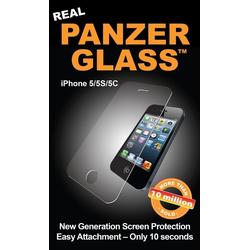 PanzerGlass Schutzglas PanzerGlass Apple iPhone 5/5S/5C/SE weiß