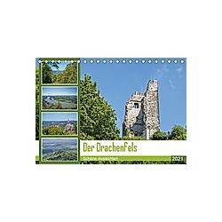 Der Drachenfels - Schöne Aussichten (Tischkalender 2021 DIN A5 quer)