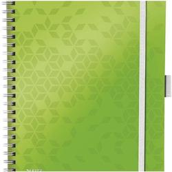 Collegeblock »WOW Be Mobile 4645« A4 kariert, FSC-Papier grün, Leitz