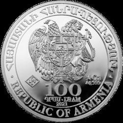 1/4 Unze Silber Armenien Arche Noah 2021