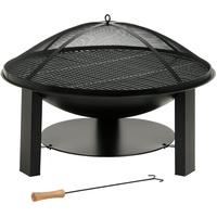 BBQ-Toro Gusseisen Feuerschale Gartenfeuerstelle Ø 75 cm mit Grillrost