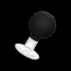 Rimba Brustpumpe mit Pumpball, 2 Teile