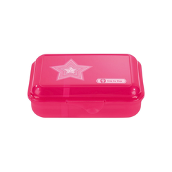 Step by Step Lunchbox, Polypropylen, Polypropylen rosa