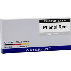 Water ID 50 Tabletten Phenol Rot für PoolLAB Tabletten