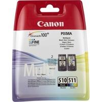 Canon PG-510 schwarz + CL-511 CMY
