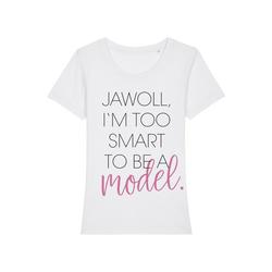 wat? Apparel Print-Shirt Jawoll I'm Too Smart XS