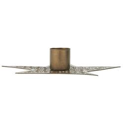 Ib Laursen Kerzenhalter IB Laursen Kerzenhalter STERN Gold 13,5 cm