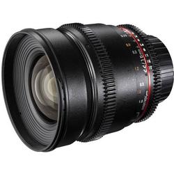 Walimex Pro Objektiv VDSLR Weitwinkel-Objektiv f/1 - 2.2 16mm