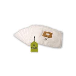 eVendix Staubsaugerbeutel 10 Staubsaugerbeutel Staubbeutel passend für Staubsauger Inotec BS 4000..., passend für Inotec