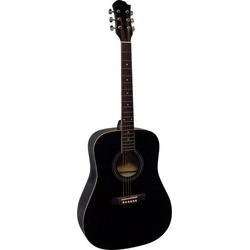 MSA Musikinstrumente CW 170 Westerngitarre 4/4 Schwarz