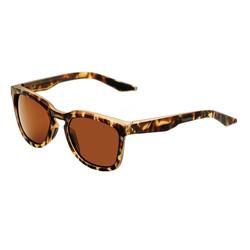 100% Sonnenbrille Hudson Matte Havana - Smoke Lens