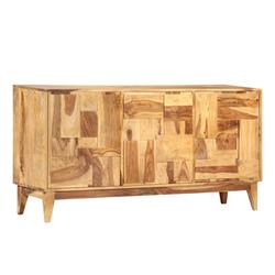 vidaXL Sideboard vidaXL Sideboard 145×40×76 cm Massivholz Palisander