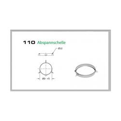 110/DN130 DW6 Abspannschelle
